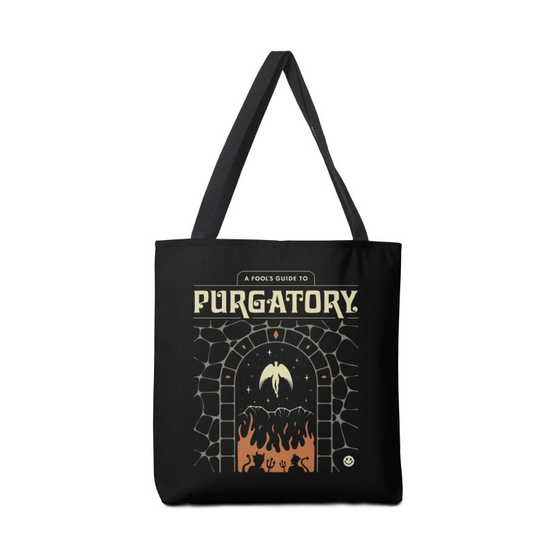 A Fool's Guide to Purgatory Accessories Bag by csw