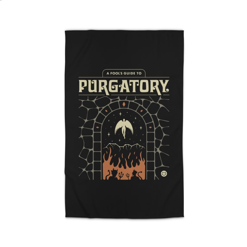 A Fool's Guide to Purgatory Home Rug by csw