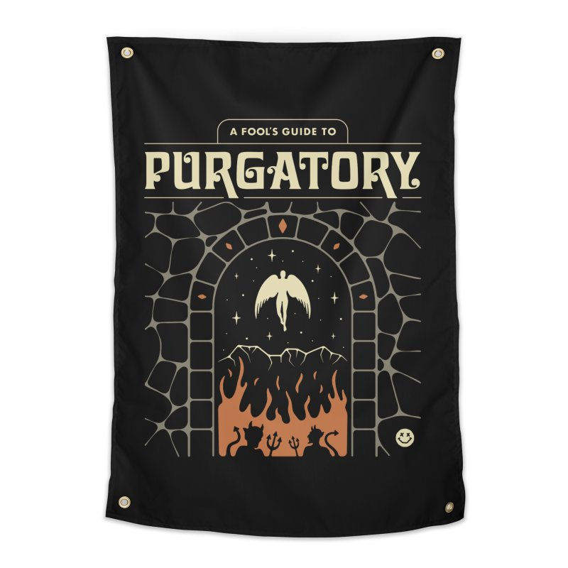 A Fool's Guide to Purgatory Home Tapestry by csw