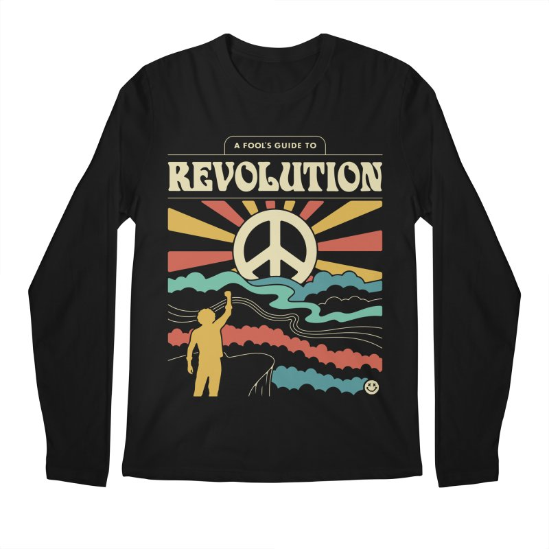 A Fool's Guide to Revolution Men's Regular Longsleeve T-Shirt by csw