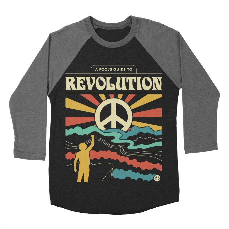A Fool's Guide to Revolution Women's Baseball Triblend Longsleeve T-Shirt by csw