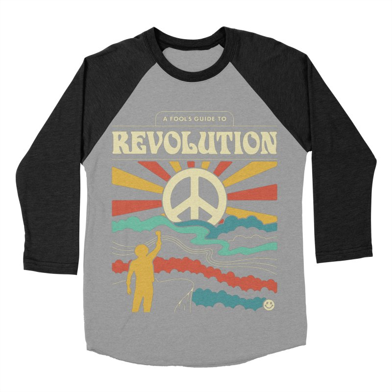 A Fool's Guide to Revolution Men's Baseball Triblend Longsleeve T-Shirt by csw