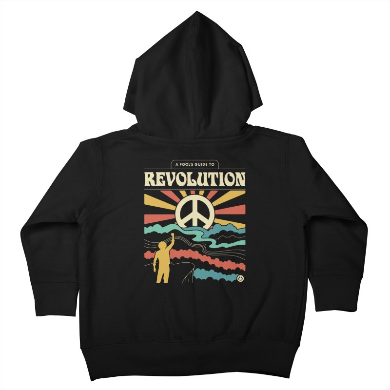 A Fool's Guide to Revolution Kids Toddler Zip-Up Hoody by csw