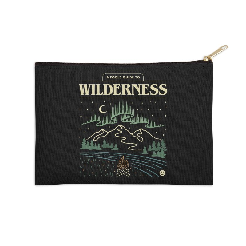 A Fool's Guide to Wilderness Accessories Zip Pouch by csw