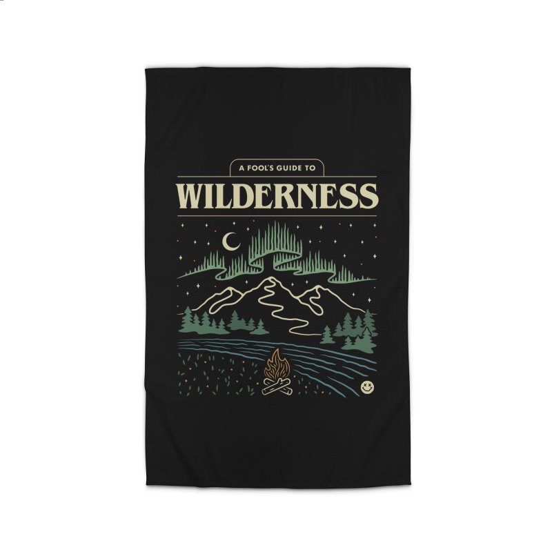 A Fool's Guide to Wilderness Home Rug by csw