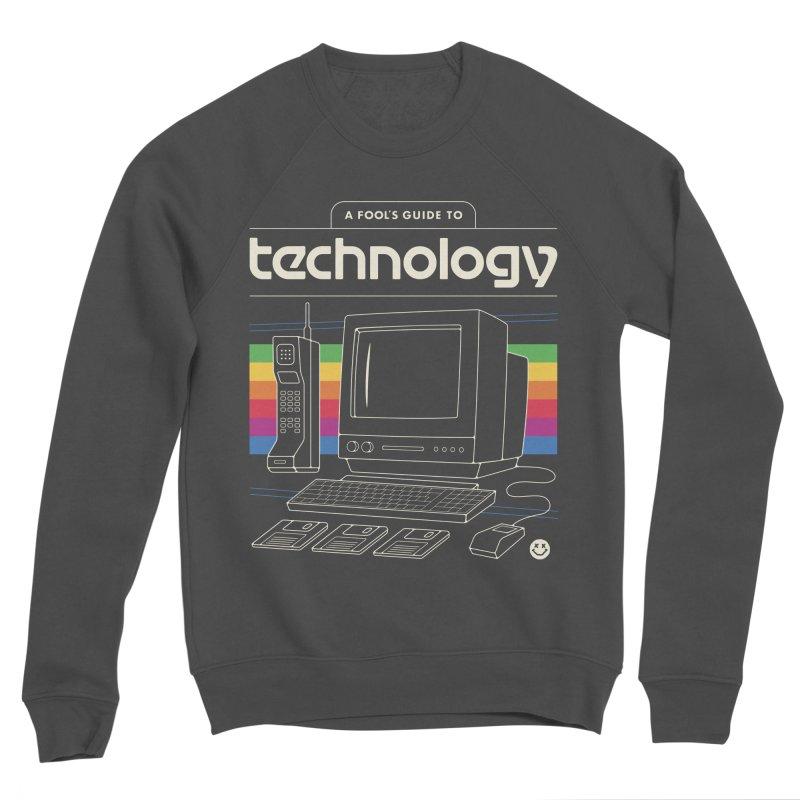 A Fool's Guide to Technology Men's Sponge Fleece Sweatshirt by csw