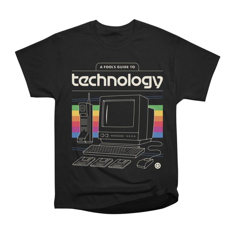 A Fool's Guide to Technology Men's T-Shirt by Cody Weiler