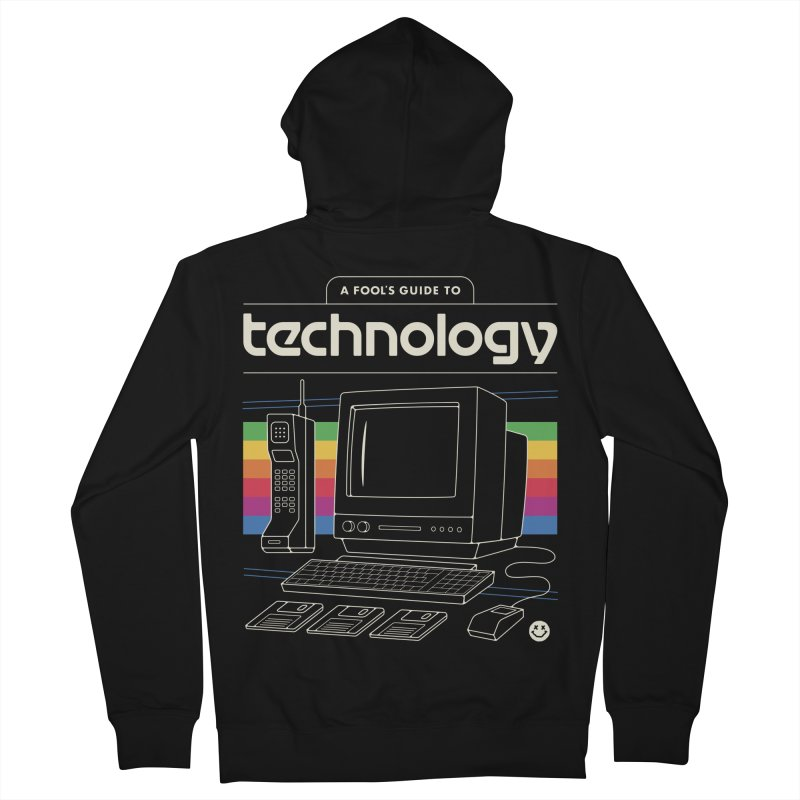 A Fool's Guide to Technology Men's French Terry Zip-Up Hoody by csw