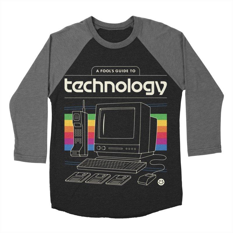 A Fool's Guide to Technology Women's Baseball Triblend Longsleeve T-Shirt by Cody Weiler