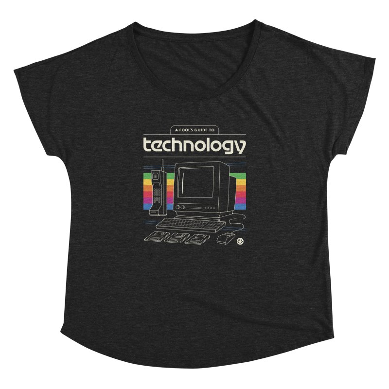 A Fool's Guide to Technology Women's Dolman Scoop Neck by csw