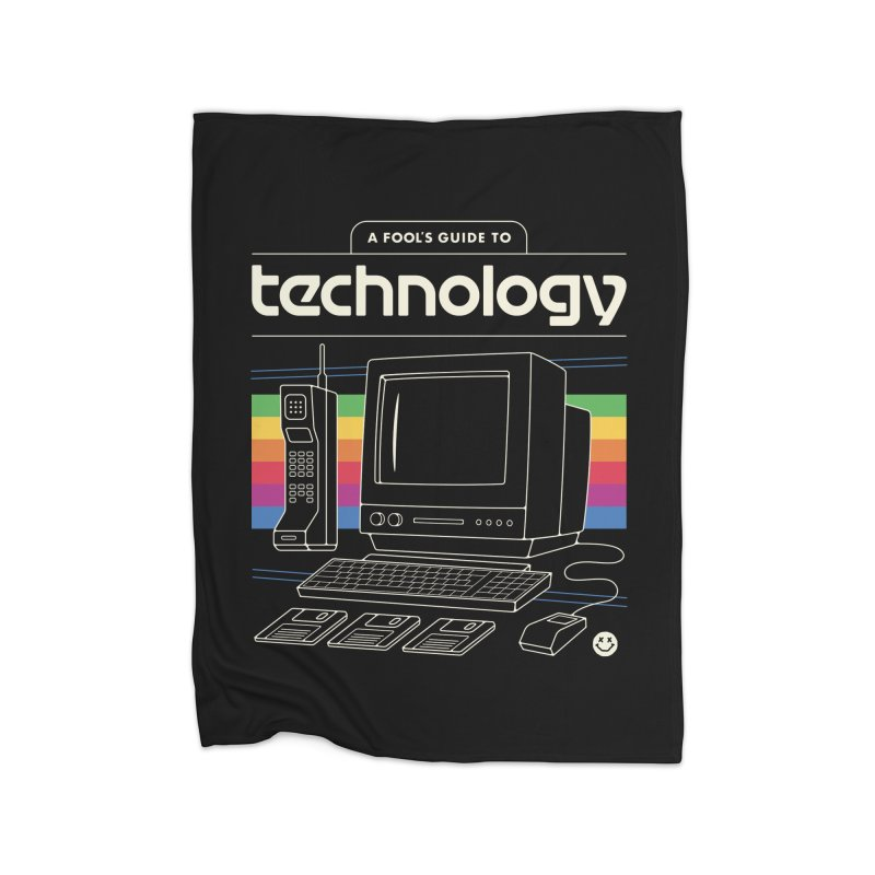 A Fool's Guide to Technology Home Blanket by csw