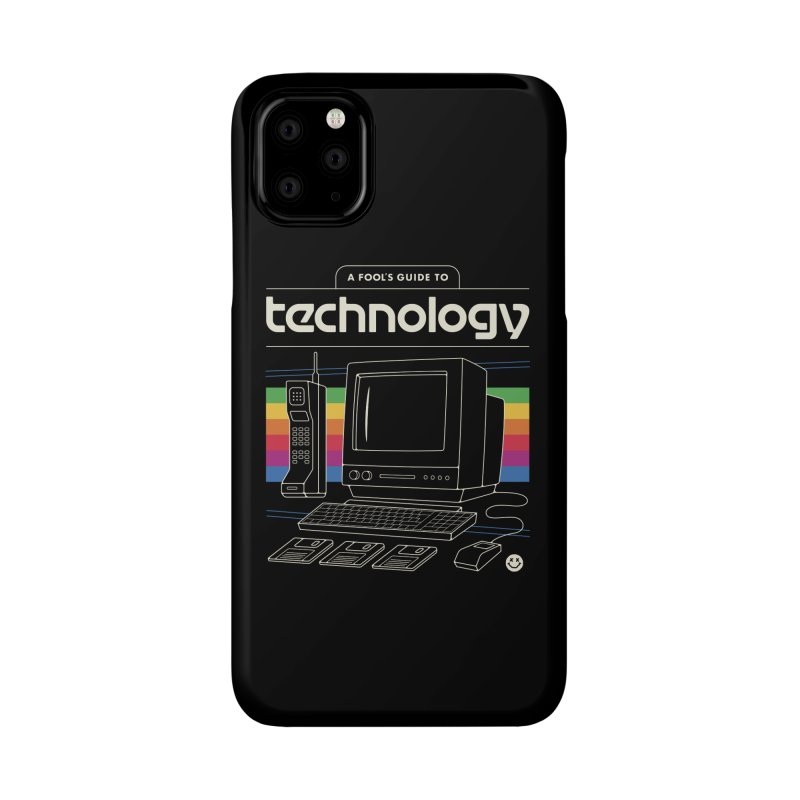 A Fool's Guide to Technology Accessories Phone Case by Cody Weiler