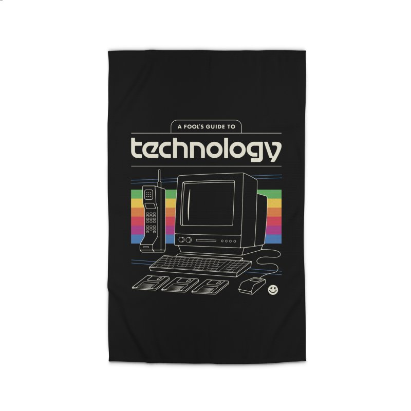 A Fool's Guide to Technology Home Rug by csw