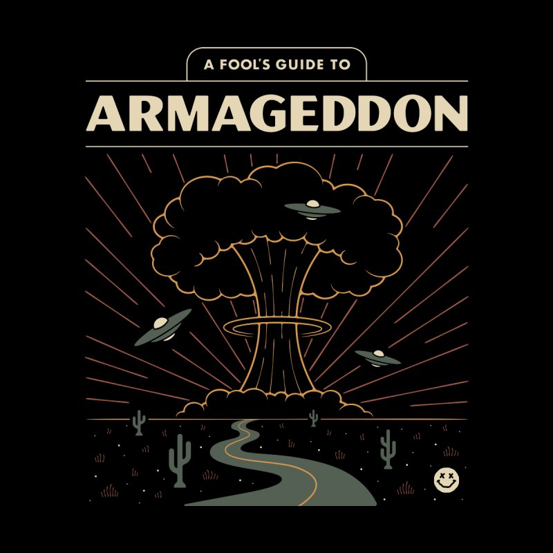 A Fool's Guide to Armageddon Accessories Sticker by Cody Weiler