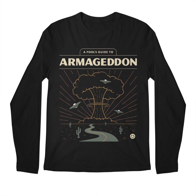 A Fool's Guide to Armageddon Men's Regular Longsleeve T-Shirt by csw