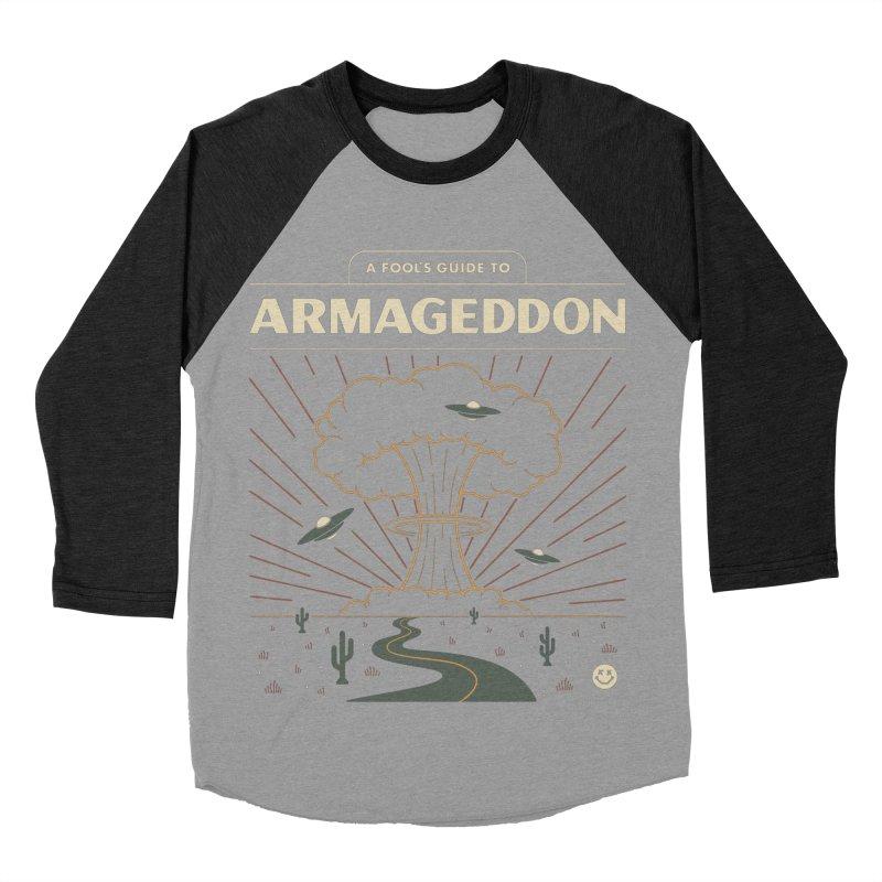 A Fool's Guide to Armageddon Women's Baseball Triblend Longsleeve T-Shirt by Cody Weiler