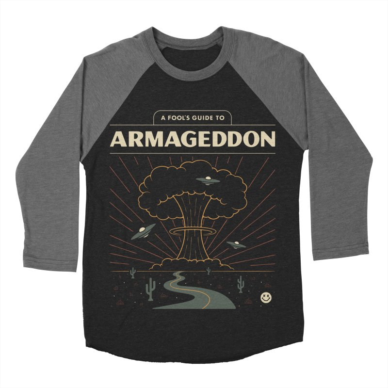 A Fool's Guide to Armageddon Men's Baseball Triblend Longsleeve T-Shirt by csw