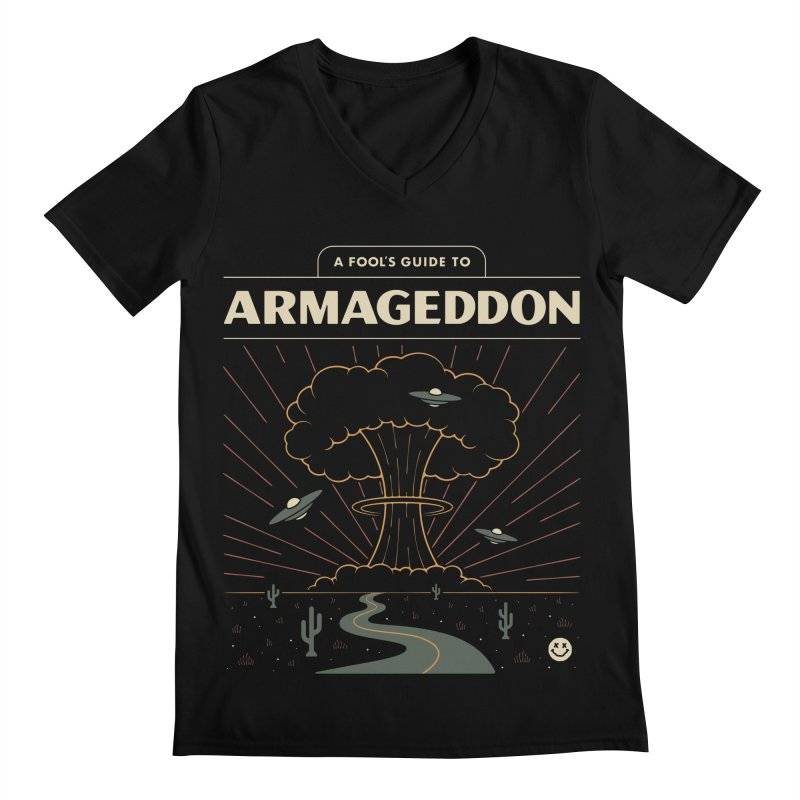 A Fool's Guide to Armageddon Men's Regular V-Neck by csw