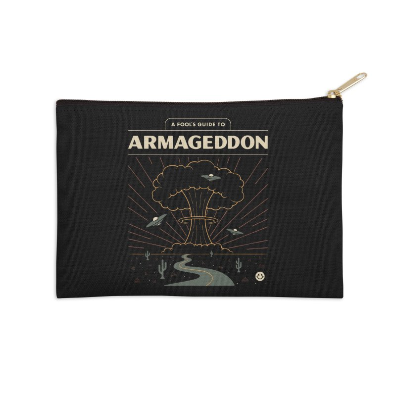 A Fool's Guide to Armageddon Accessories Zip Pouch by csw