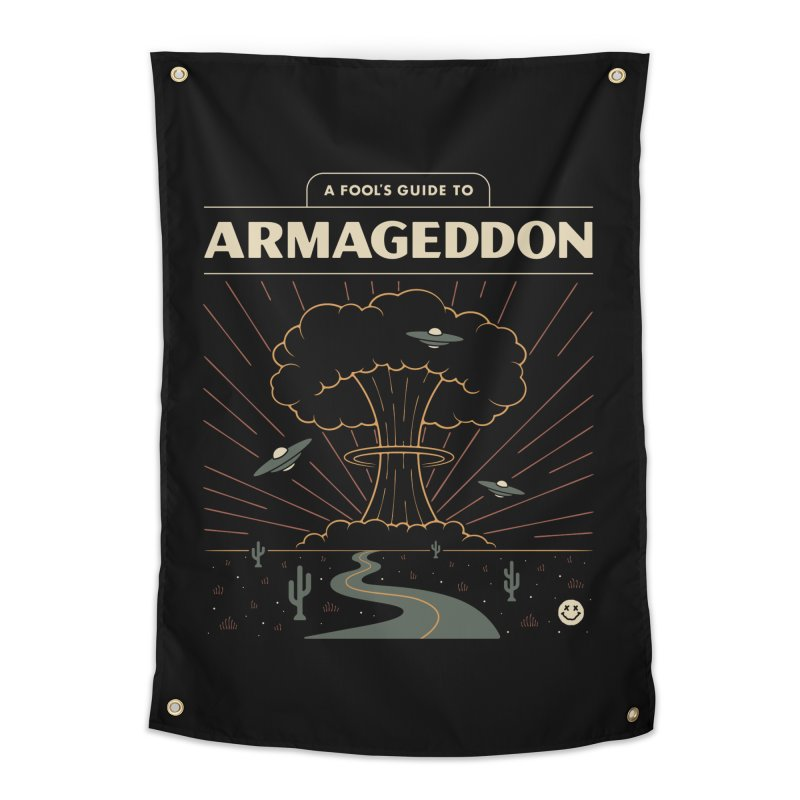A Fool's Guide to Armageddon Home Tapestry by csw