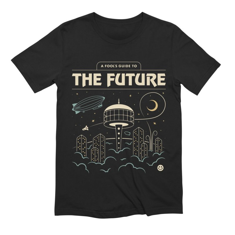A Fool's Guide to the Future Men's Extra Soft T-Shirt by Cody Weiler
