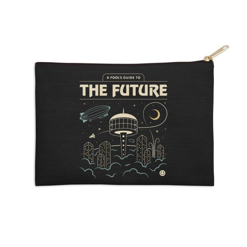 A Fool's Guide to the Future Accessories Zip Pouch by csw