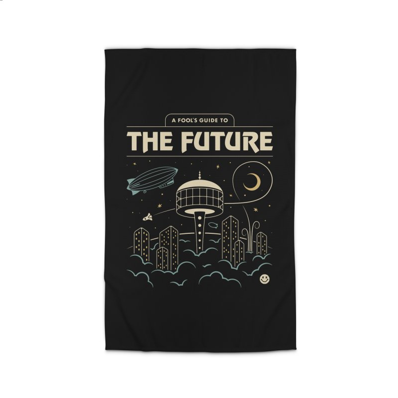 A Fool's Guide to the Future Home Rug by csw