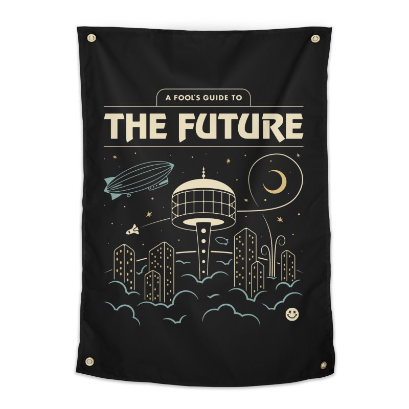 A Fool's Guide to the Future Home Tapestry by csw