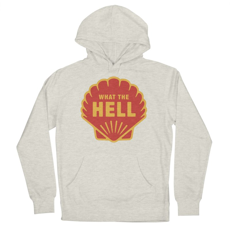 What the Hell Men's French Terry Pullover Hoody by Cody Weiler