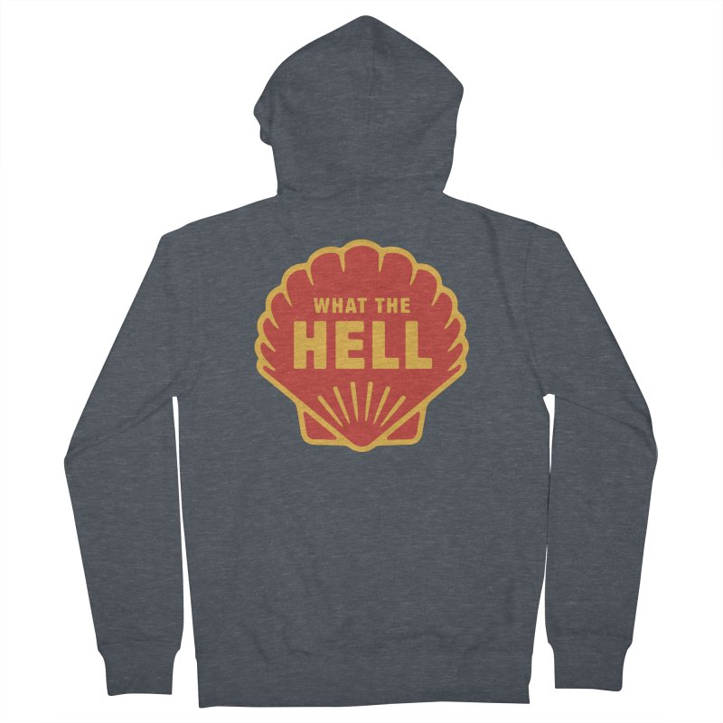 What the Hell Women's French Terry Zip-Up Hoody by Cody Weiler