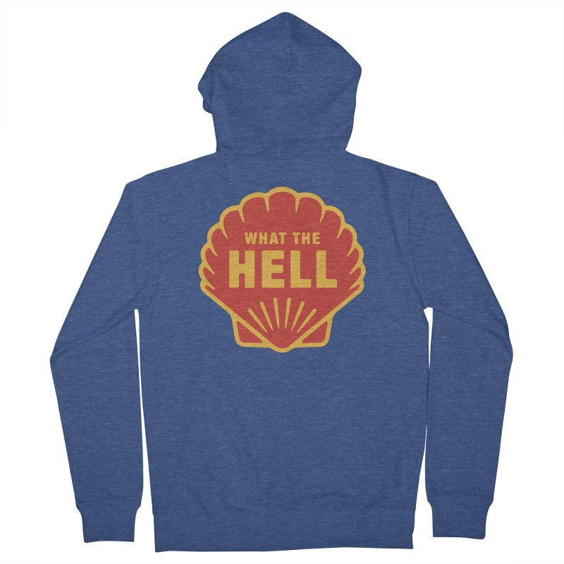 What the Hell Men's French Terry Zip-Up Hoody by Cody Weiler