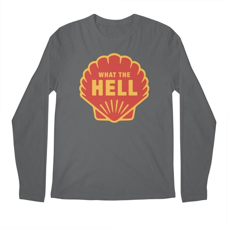 What the Hell Men's Regular Longsleeve T-Shirt by Cody Weiler