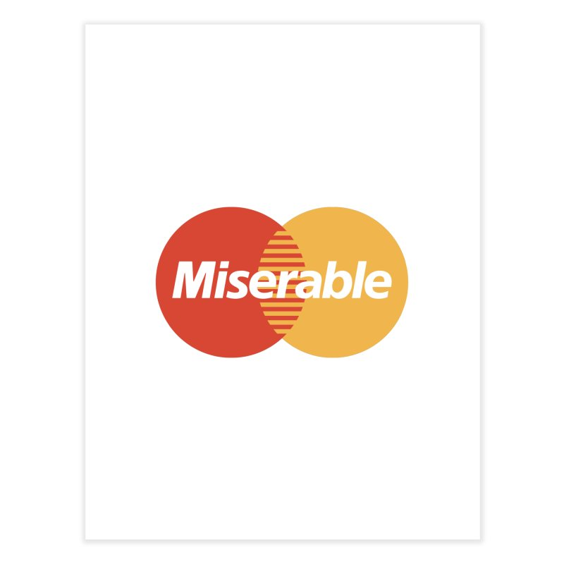 Miserable Home Fine Art Print by Cody Weiler