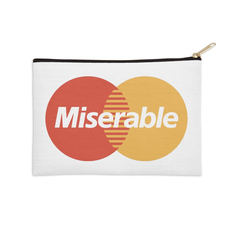 Miserable Accessories Zip Pouch by Cody Weiler