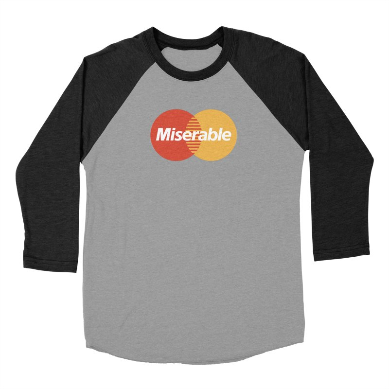 Miserable Women's Longsleeve T-Shirt by Cody Weiler