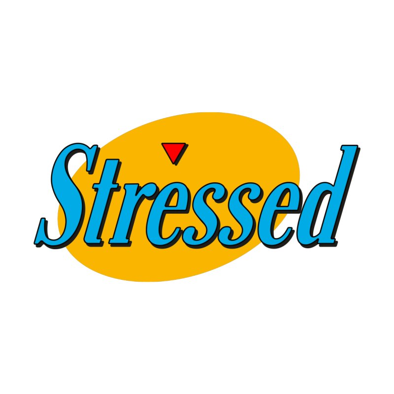 Stressed I Women's Scoop Neck by Cody Weiler
