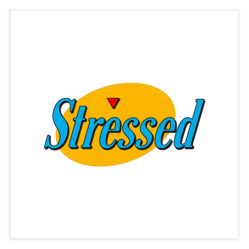 Stressed I Home Fine Art Print by Cody Weiler