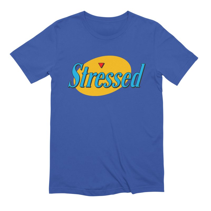 Stressed I Men's Extra Soft T-Shirt by Cody Weiler