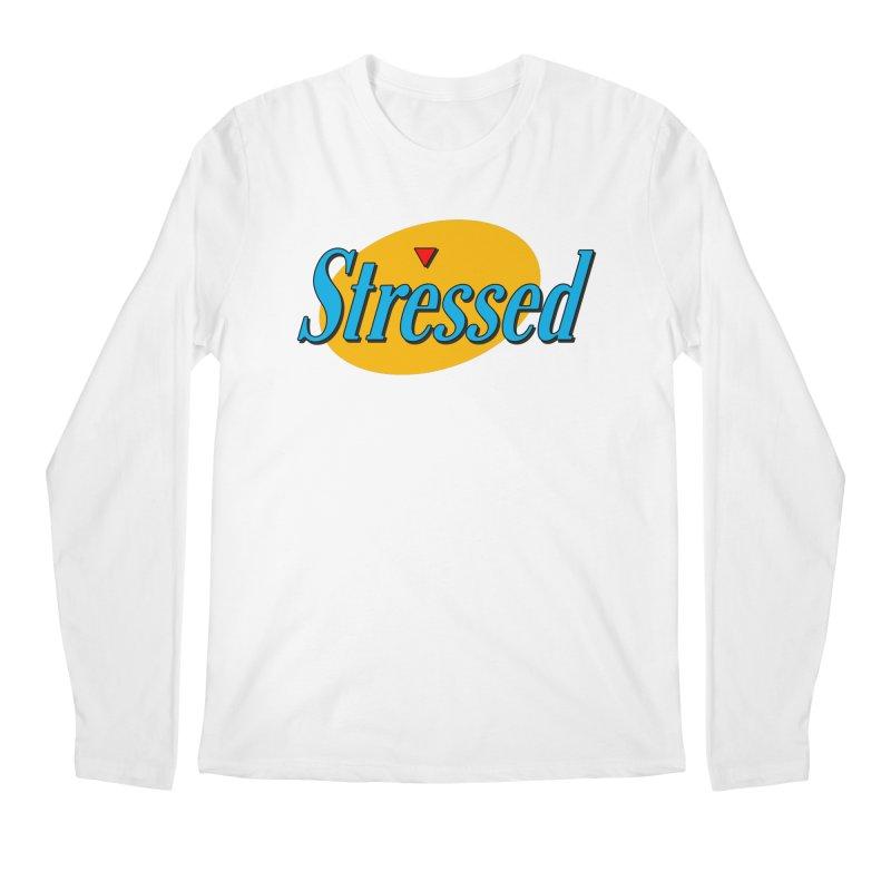 Stressed I Men's Regular Longsleeve T-Shirt by Cody Weiler