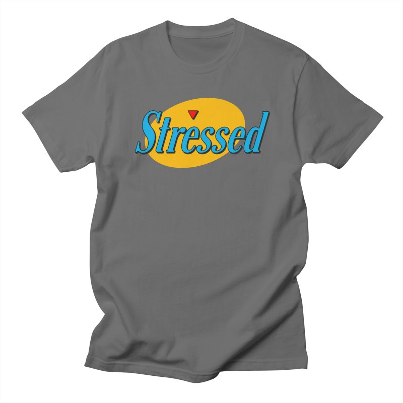 Stressed I Men's T-Shirt by Cody Weiler