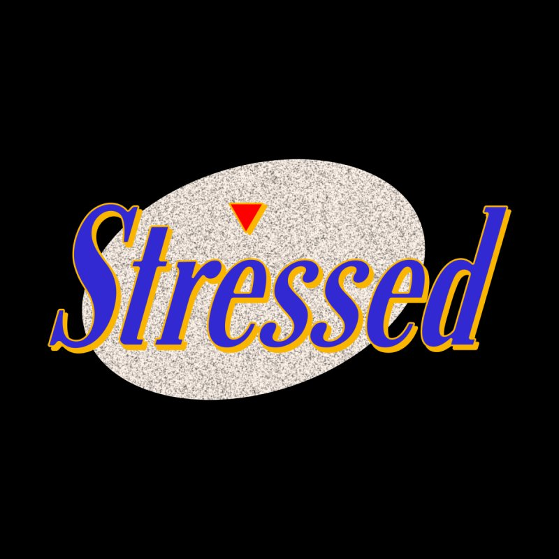 Stressed II Men's Longsleeve T-Shirt by Cody Weiler