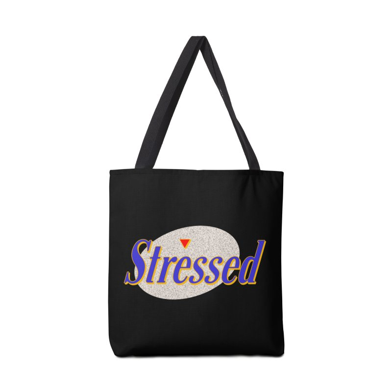 Stressed II Accessories Bag by Cody Weiler