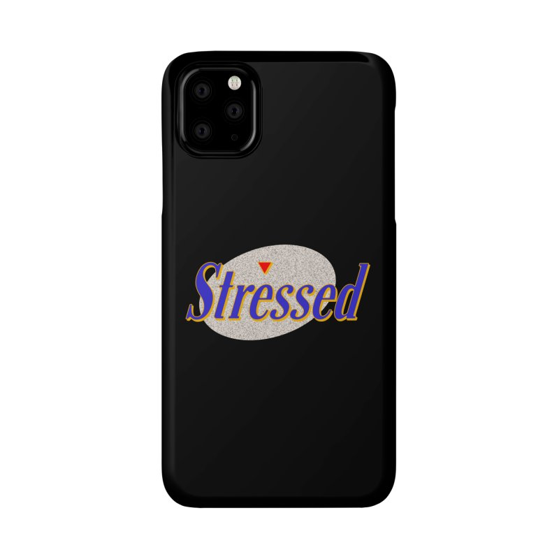 Stressed II Accessories Phone Case by Cody Weiler