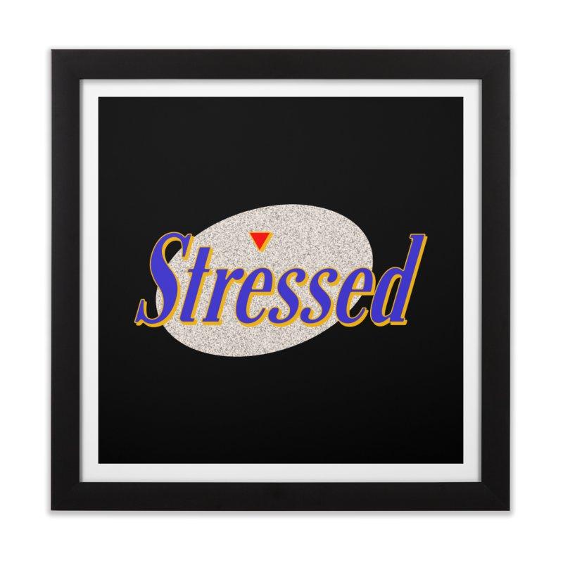 Stressed II Home Framed Fine Art Print by Cody Weiler