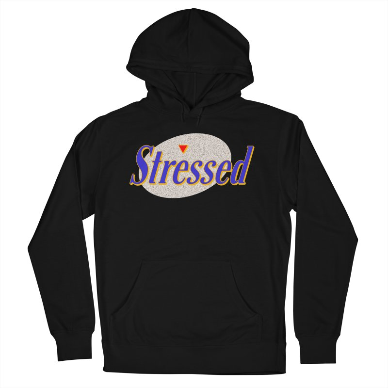 Stressed II Men's French Terry Pullover Hoody by Cody Weiler