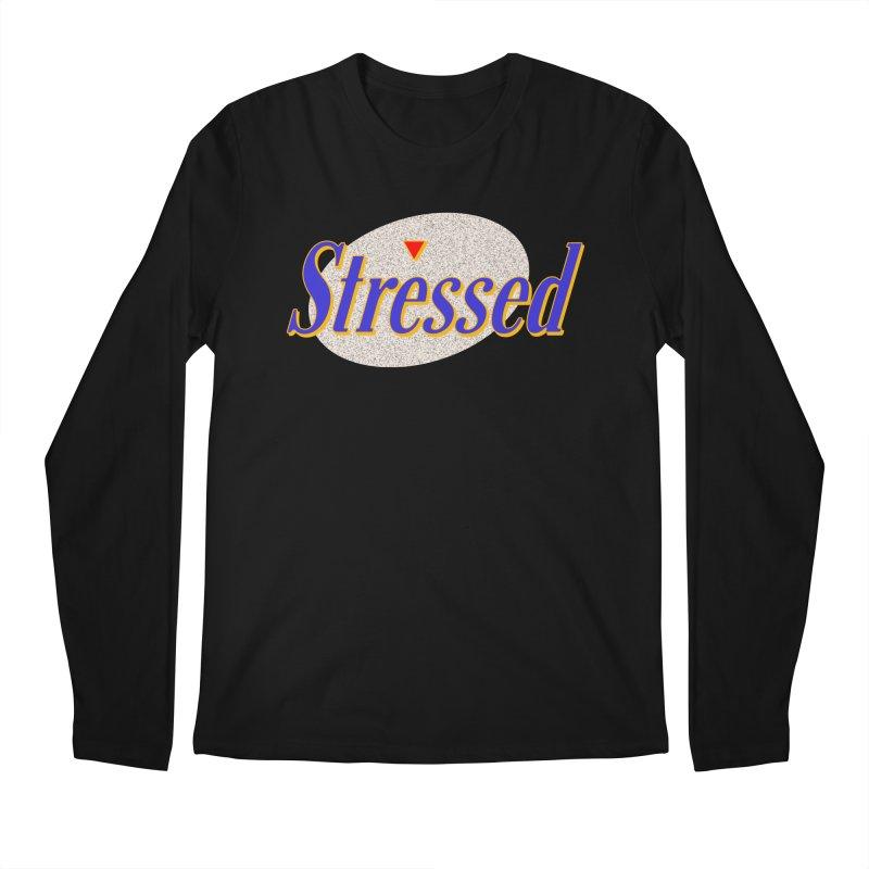 Stressed II Men's Regular Longsleeve T-Shirt by Cody Weiler