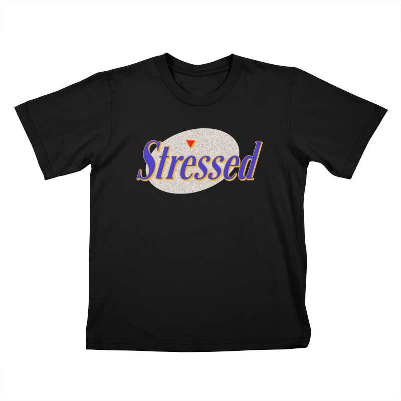 Stressed II Kids T-Shirt by Cody Weiler