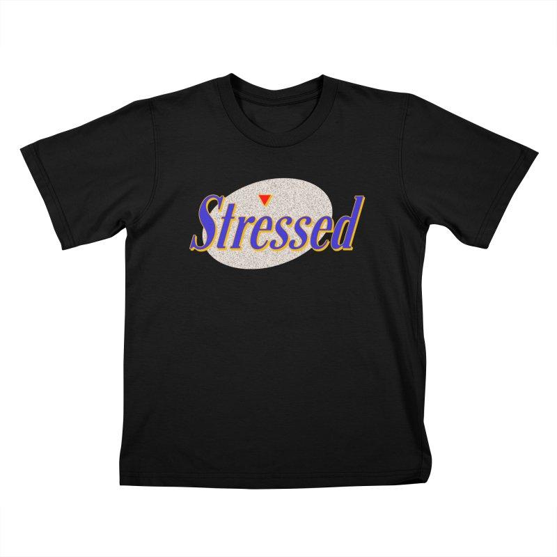 Stressed II Kids T-Shirt by Cody Weiler