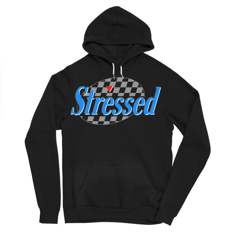 Stressed III Men's Sponge Fleece Pullover Hoody by Cody Weiler