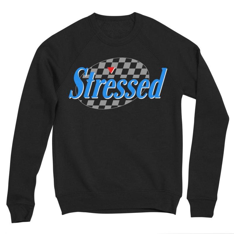 Stressed III Men's Sponge Fleece Sweatshirt by Cody Weiler